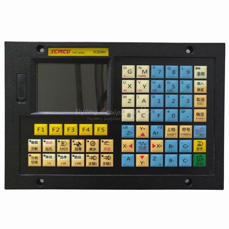 XC609M نك طحن نظام 1 إلى 6 محور الربط حاليا تحكم لوحة القطع آلة الحفر Hmi شاشة تعمل باللمس