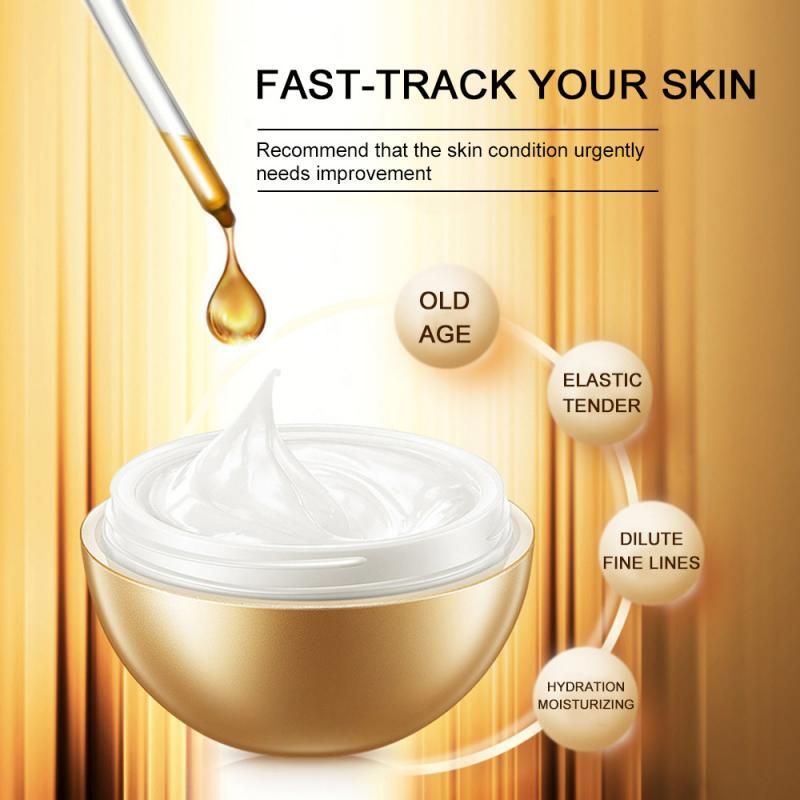 Crema Facial antiarrugas, colágeno, cremas hidratantes para blanquear la cara, suero hialurónico nutritivo, máscara para dormir, cuidado de la piel TSLM2