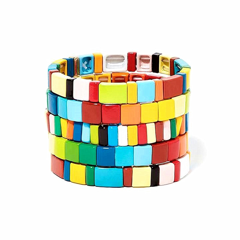 boho enamel bracelets gifts for women tiff braslet regalos para hombre avatar the last airbender bracelet femme 2019 bizuteria