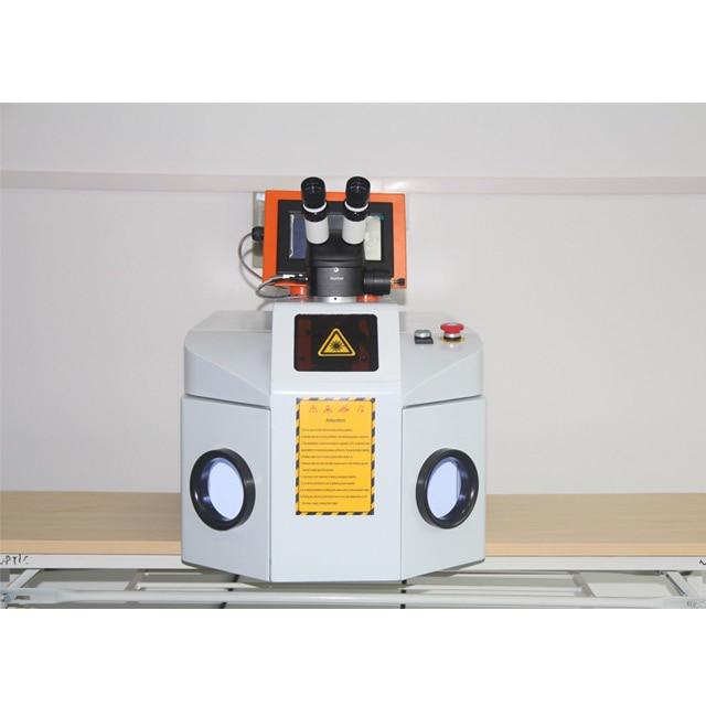 200W Desktop Jewelry Laser Welding Machine System with CCD enlarge