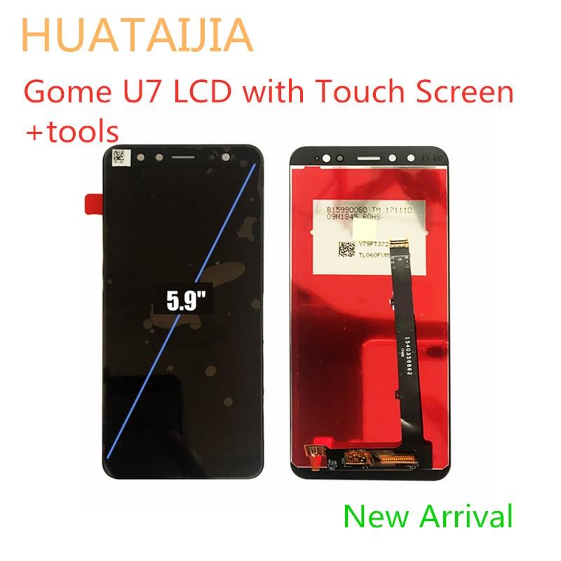 جديد وصول استبدال الهاتف الذكي 5.9 ل Gome U7 LCD مع شاشة تعمل باللمس أدوات التجميع محول الأرقام