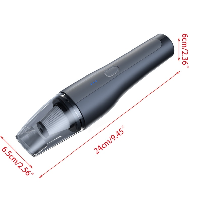 Cordless Mini Vacuum Cleaner Handheld USB Rechargeable for Home SUV Car Cleaning R2JF