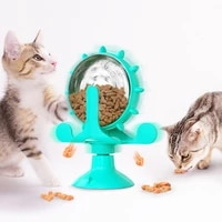 pet feeder funny cat dog wheel interactive treat leaking toy for small dogs original slow feeding