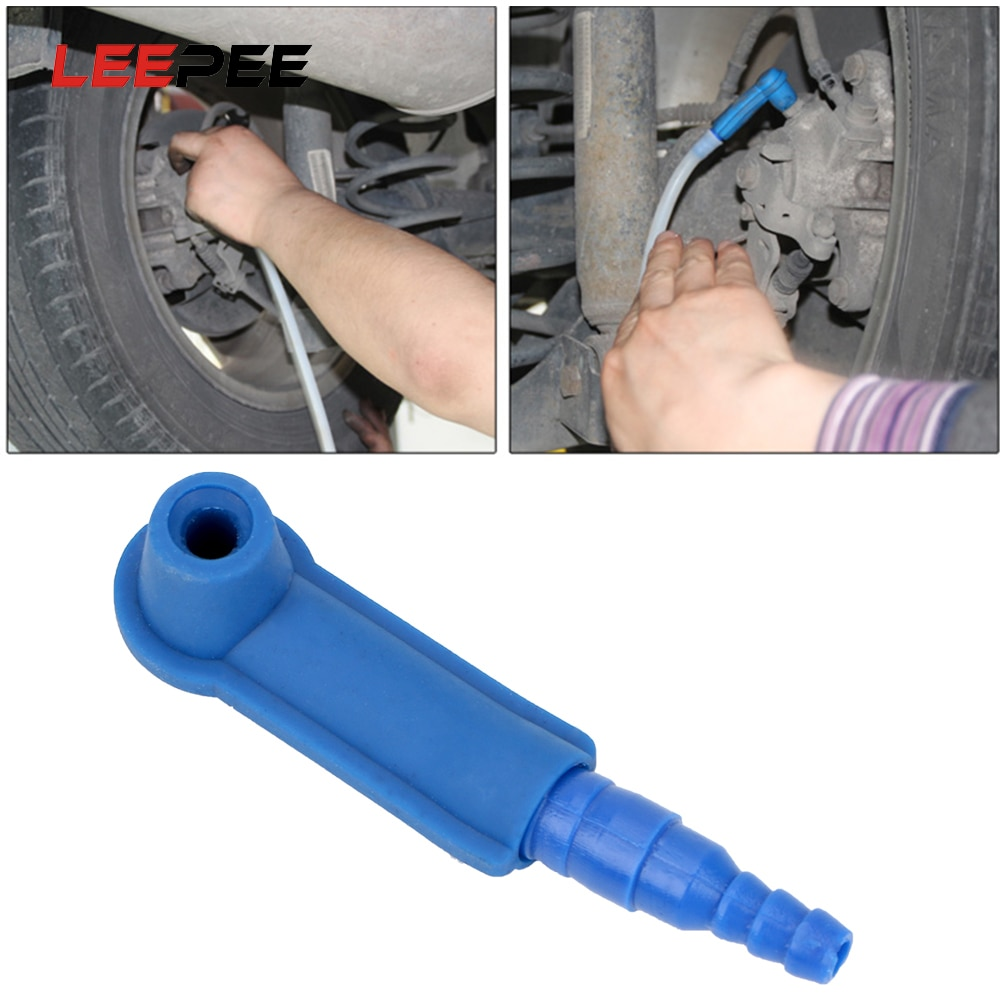 LEEPEE, dispositivo cambiador de aceite de freno para coches, camiones, suministros de construcción, herramienta de intercambio de aceite de freno, Kit purificador de aceite escurrido