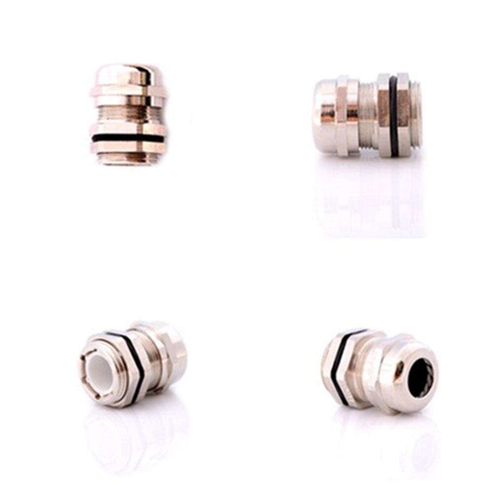 Pg11 glândula impermeável de aço inoxidável para 5-10mm cabos 1 pces