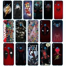 238DD Superman Deadpool Iron Man DC Marvel couverture en Silicone souple pour Huawei P9 P10 P20 P30 Lite mate 10 20 PRO lite p smart 2019