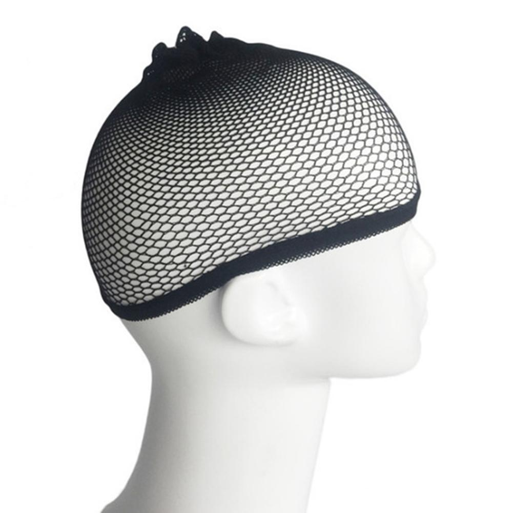 Alileader Beauty Wish Wig 1Pcs New Stretchable Elastic Hair Nets Snood Wig Cap Cool Mesh Cosplay Black Color FishHairnet
