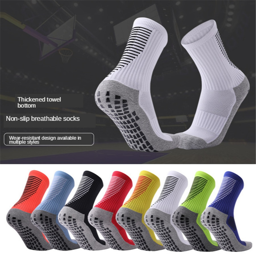 Professional anti-slip Soccer socks Breathable basketball fitness GYM Compression Circulation Footba