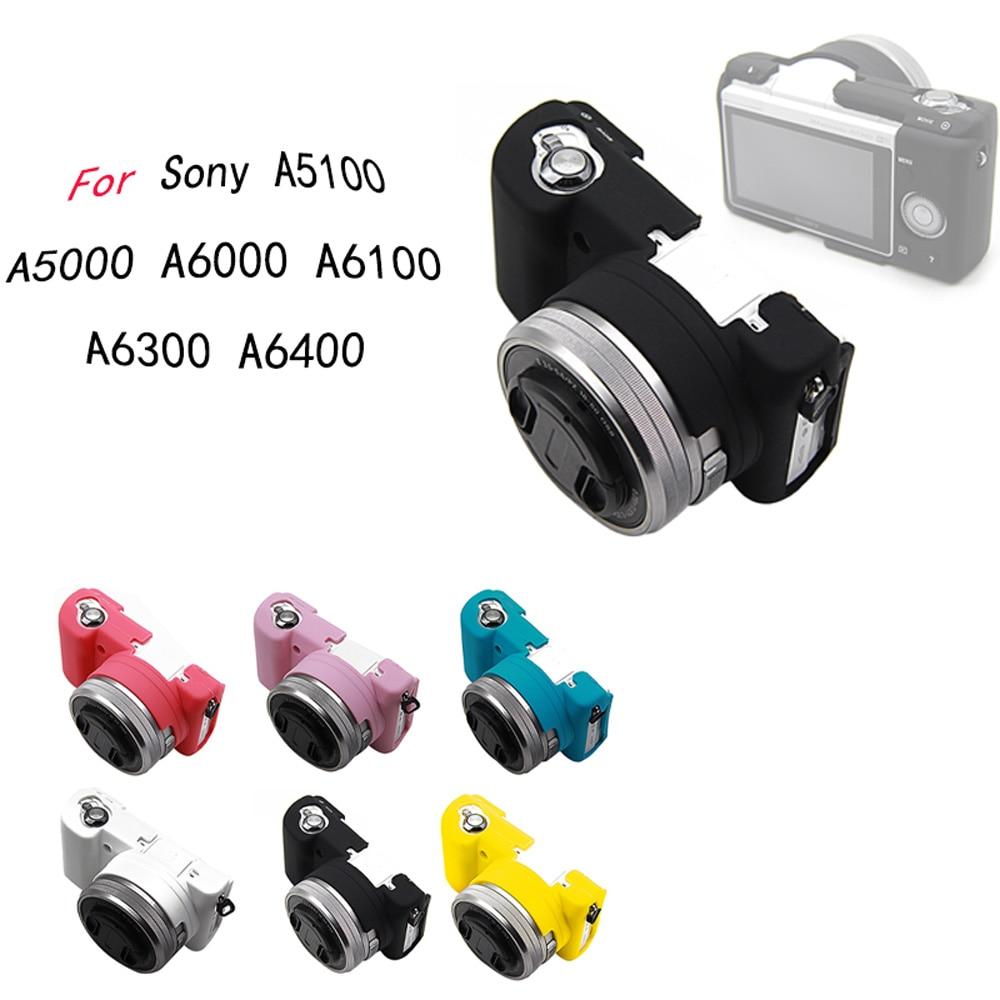 Para Sony Alpha A5100 A5000 A6000 A6100 A6300 A6400 para goma de...
