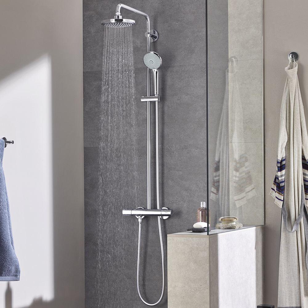 Juego de grifos de ducha de lluvia negra montado en la pared grifo de ducha de lluvia almacenamiento grifo de mezclador de baño frío caliente con ducha de mano