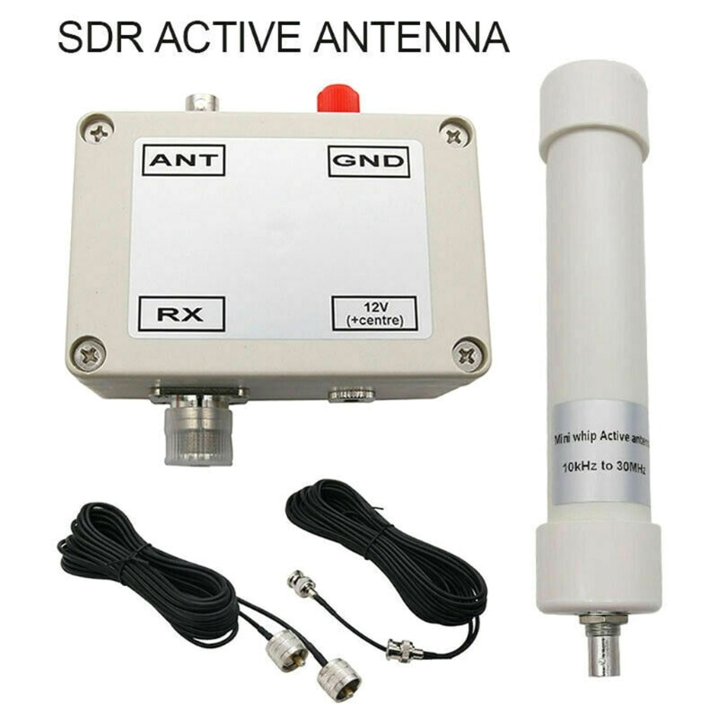 2021 New Portable Mini Whip Active Antenna Assembled in Box HF LF VLF Mini-whip Sdr RX