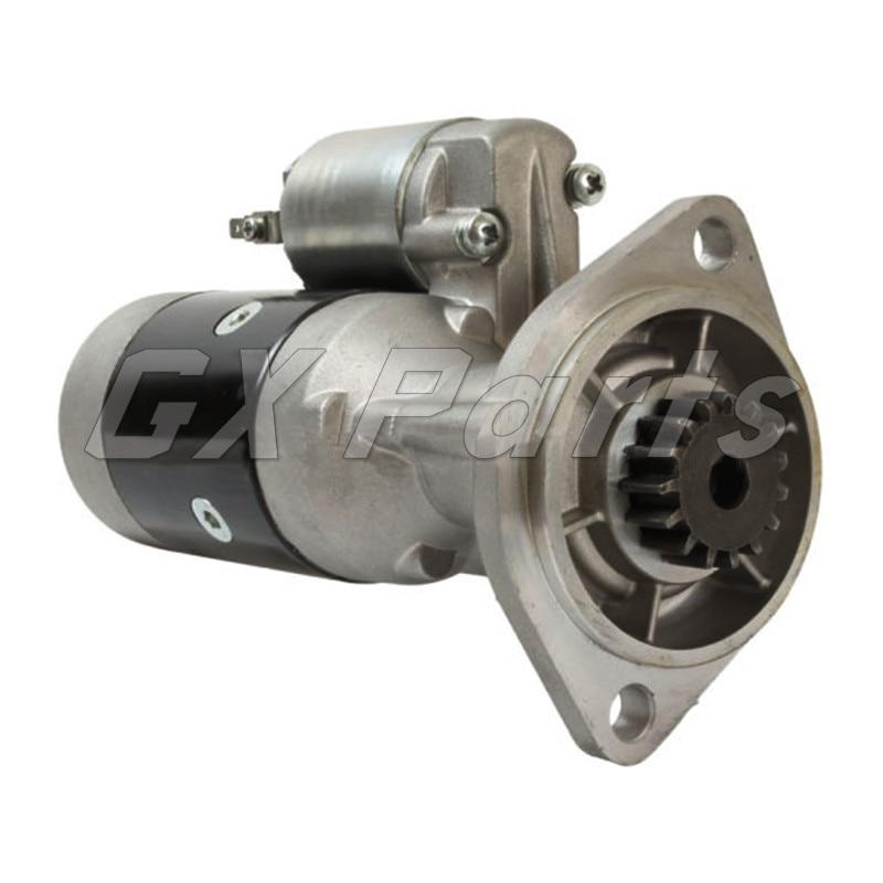 42534685 S13124 Motor de arranque para GEHL Skid Steer 3635, 3640, 3840, 3935, 4240 Volvo EC45 cargadora de ruedas 4D88E del Motor