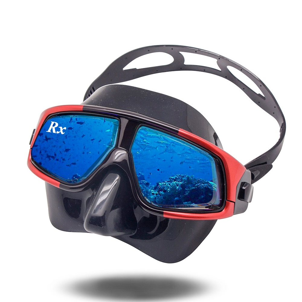 Rx Prescription Corrective Optical Diving Gear Kit Hyperopia Myopia Snorkel Set Dry Top Scuba Mask Wide Vision Anti-Fog UV400 deepgear nearsighted diving mask for adult clear pc myopia lens scuba mask short sighted divers scuba mask top snorkel gears