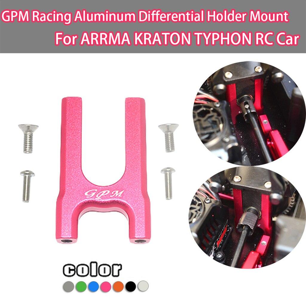 Control remoto accesorios para coche GPM Racing soporte diferencial de aluminio para ARRMA KRATON TYPHON RC CarZ110