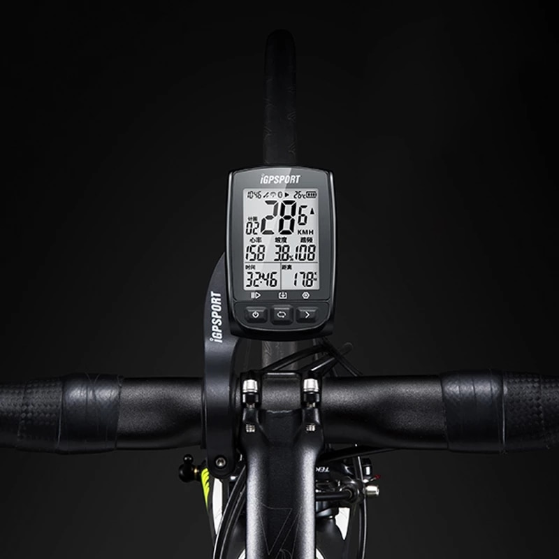 iGPSPORT  Competitive GPS Cycle Computer iGS50E IPX6 Waterproof Quick Start GPS Riding  Waterproof Bike Speedometer Odometer