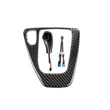 LHD Carbon Fiber Automatic LED Gear Shift Knob Fitment Parts for BMW E90 E93 E81 E82 E84 E87