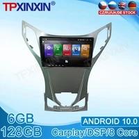android 10 0 for hyundai azera grandeur i55 2011 stereo touch screen dsp navigation 128gb car multimedia radio player carplay