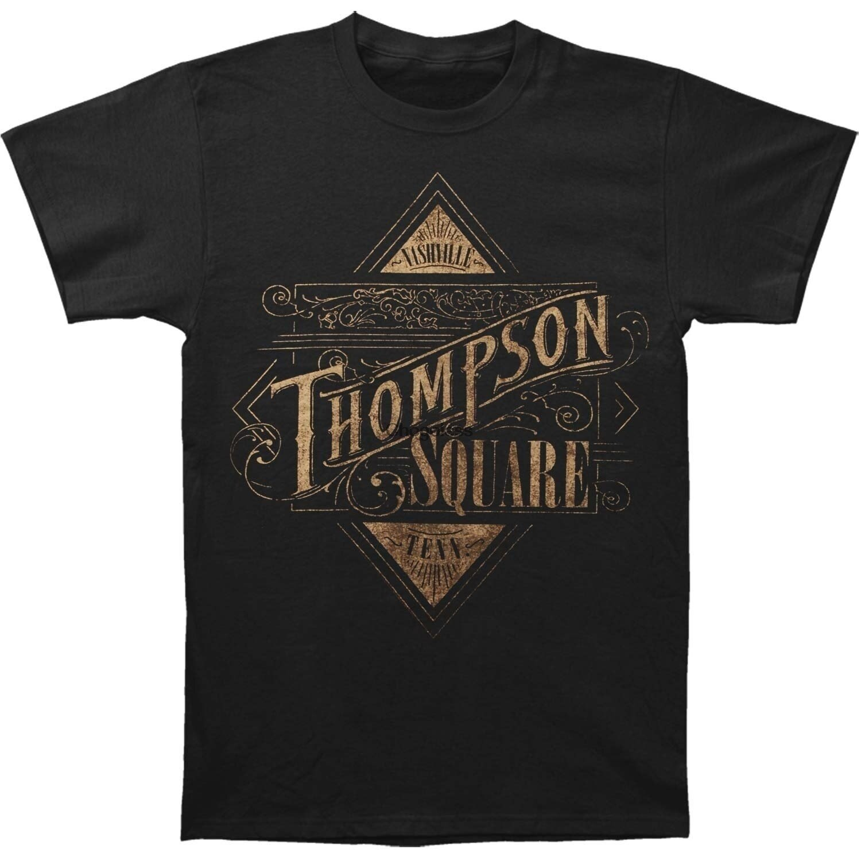 Camiseta con Logo cuadrado para hombre de camiseta de manga corta con...