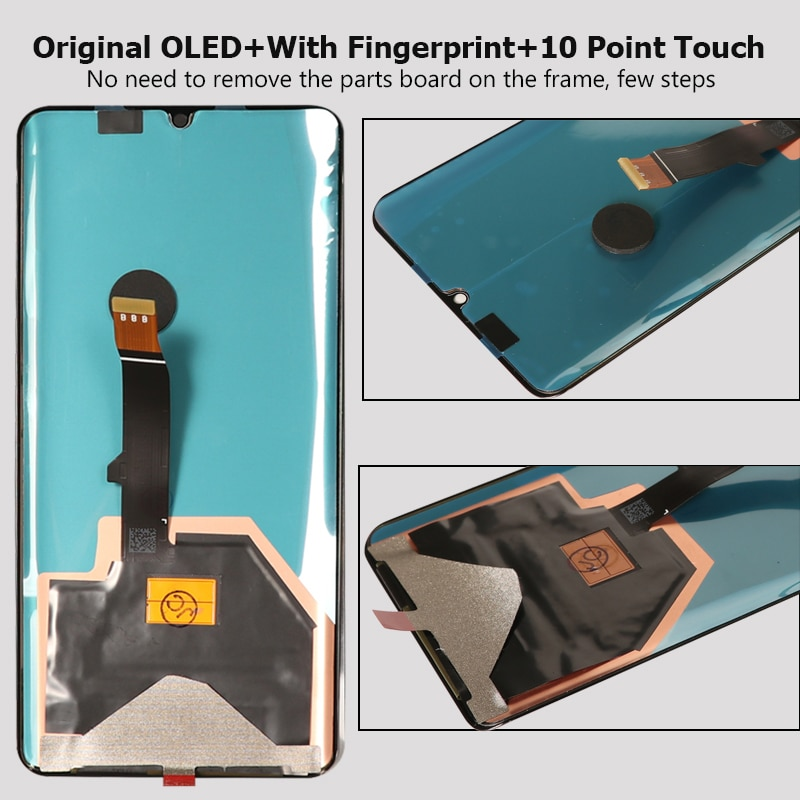 Original OLED Display For Huawei P30 Pro LCD Display Touch Screen With Frame Digitizer Assembly For Huawei P30 Pro LCD Screen enlarge