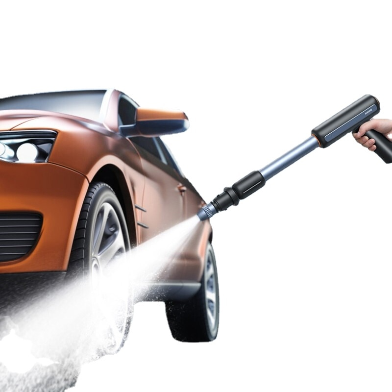 Electric Car Wash Gun High Pressure Cleaner Foam Nozzle for Protable Wireless Self Cleaning Car Wash