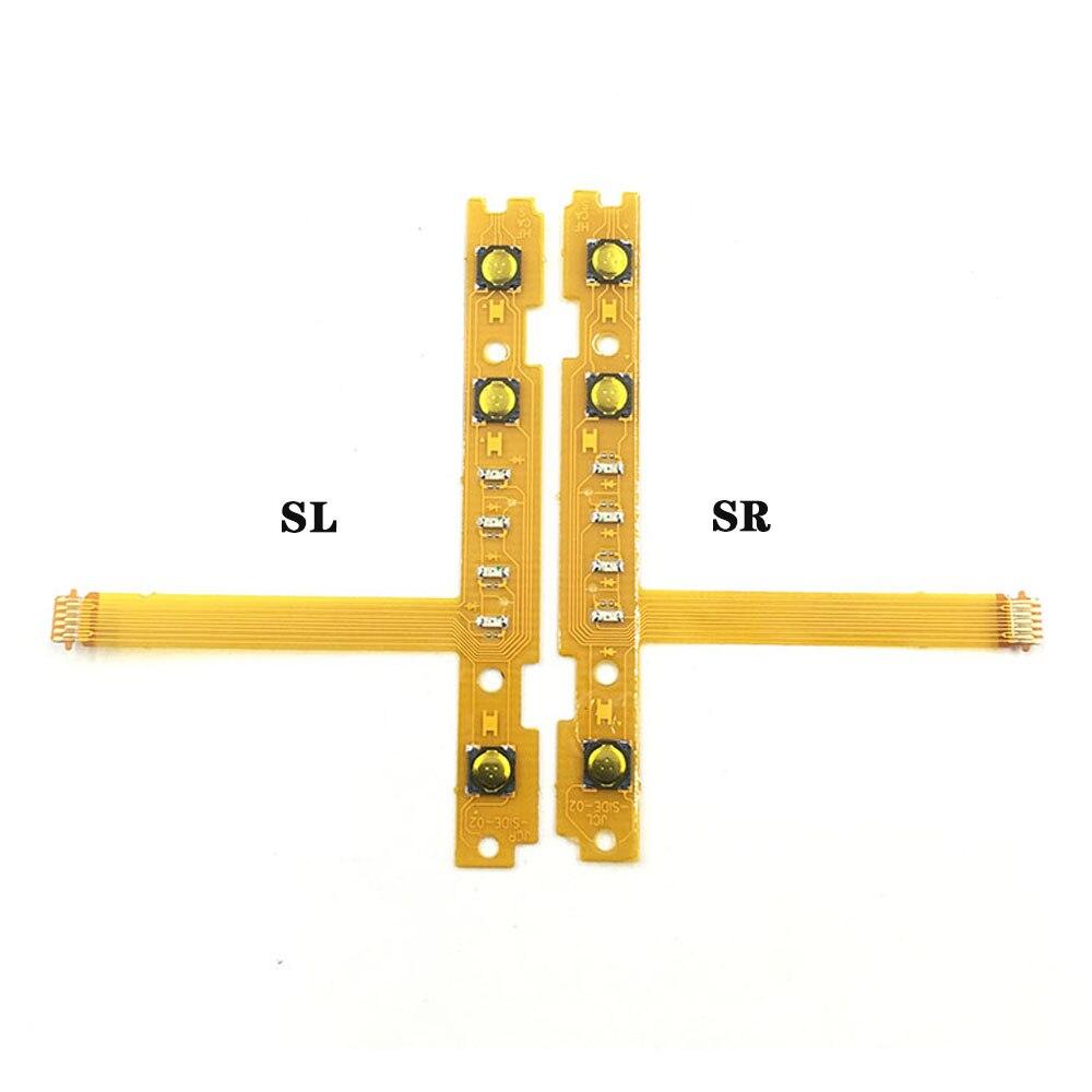 Joycon-controlador sl, sr, zr, zl, botão chave, cabo de reparo e substituição, nintendo switch, joy-con
