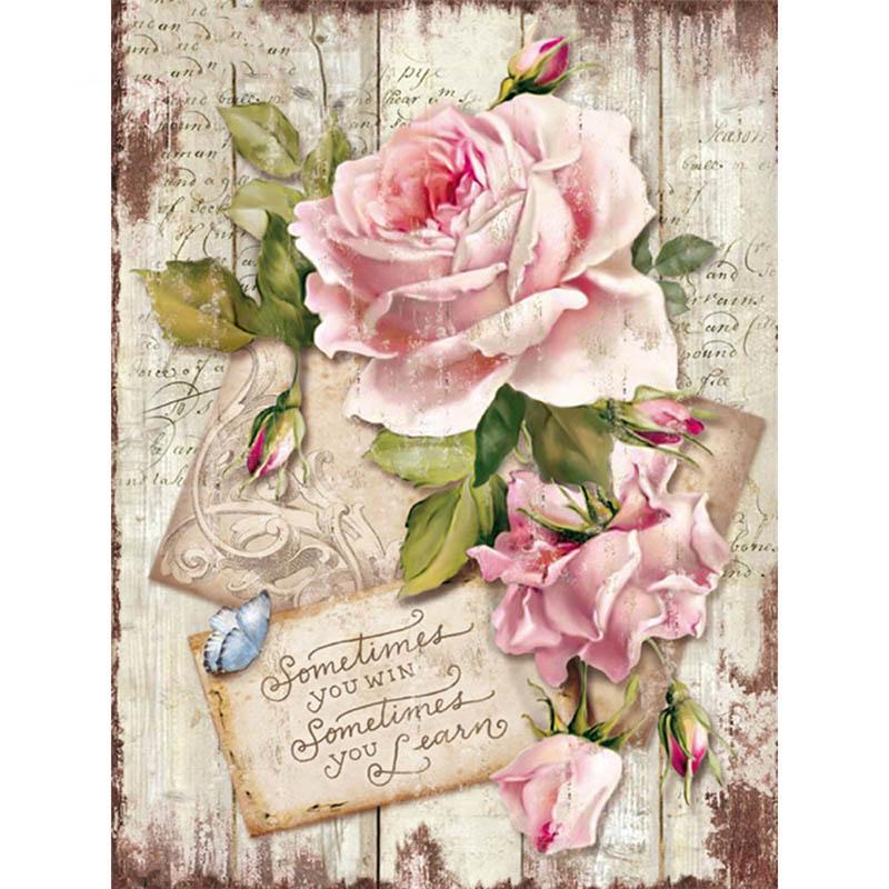 5D DIY Алмазная картина цветок Алмазная мозаика полная квадратная Роза сверло картина Стразы Алмазная вышивка домашний декор