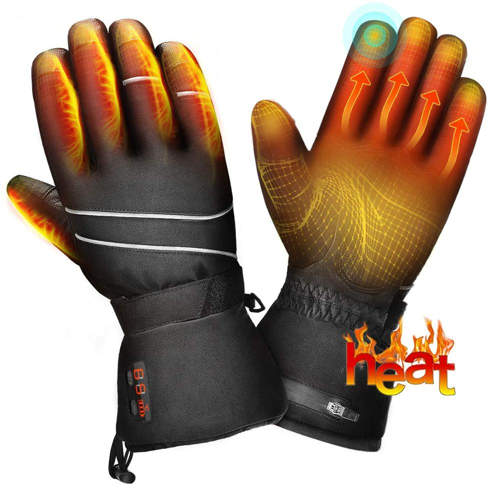 Windproof Warm Touchscreen Gloves Men Women For Cycling Running Outdoor Activities
