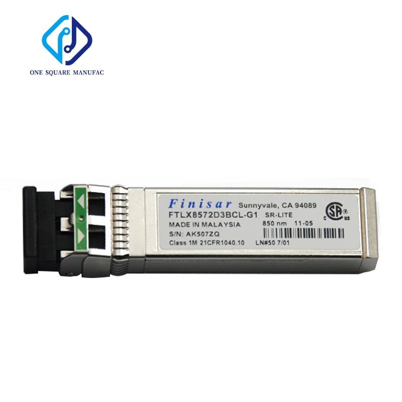 Finisar FTLX8572D3BCL-G1 300m 850nm 10G مليون LC المتعدد SFP + الألياف البصرية الإرسال والاستقبال