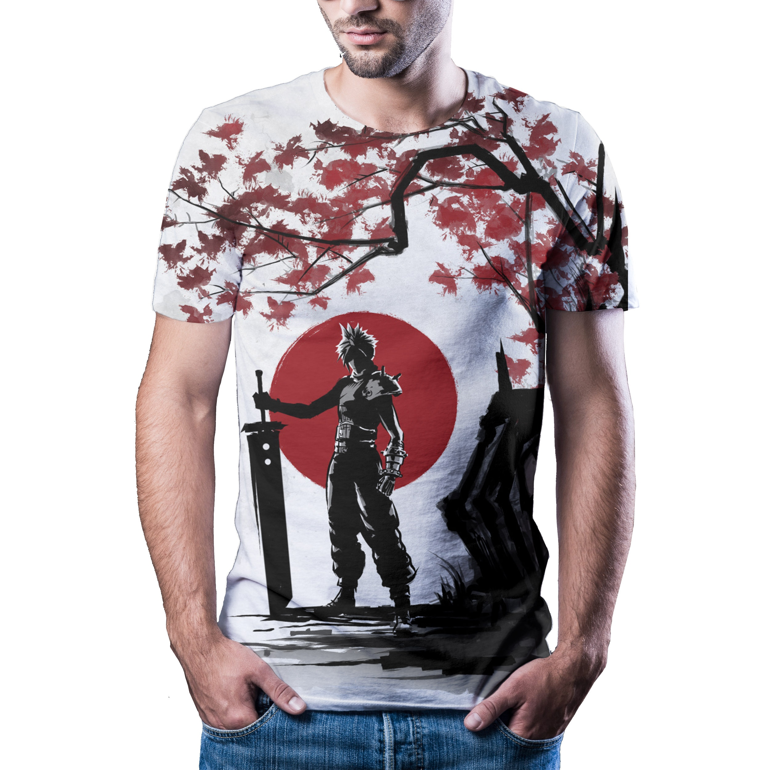2021 summer new animation 3D printing T-shirt hot casual mens womens fashion T-shirt natural painting shirt T-shirt XXS  6XL