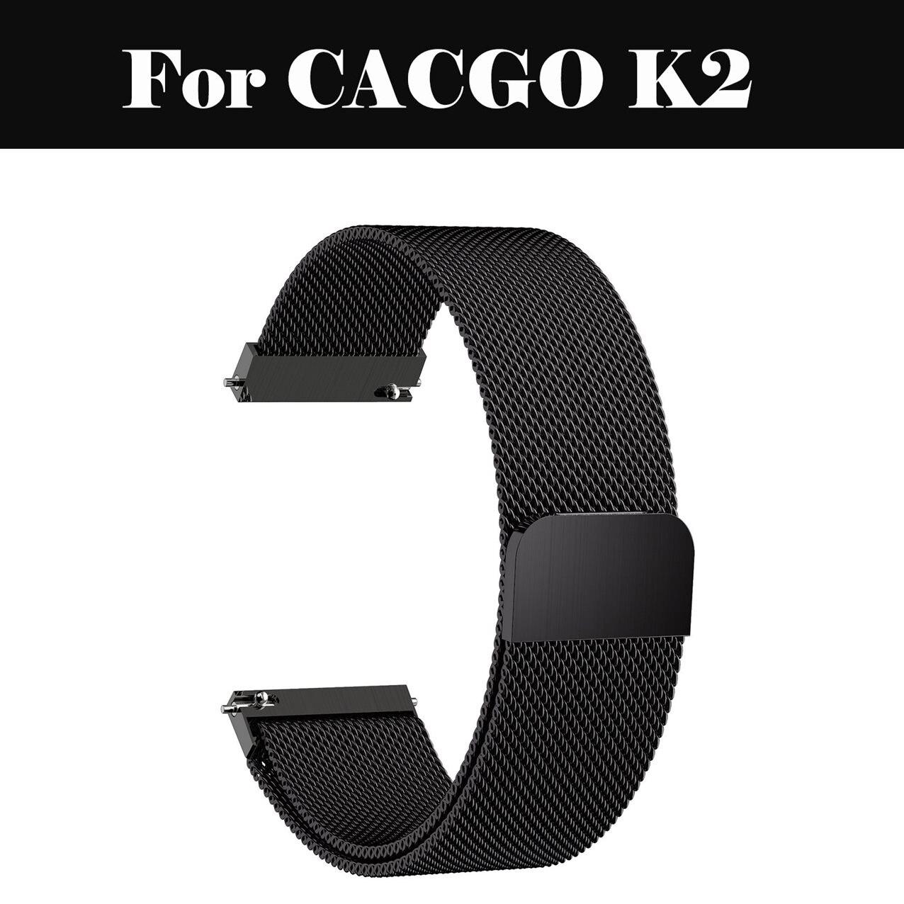 Correa clásica Milanesa De 22mm 20mm 18mm huami amazfit Correa BIP para CACGO K2