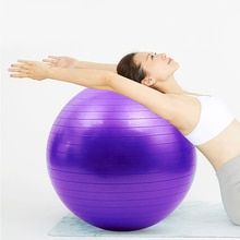 PVC Sports Yoga Balls Fit ball Massage Training Workout Exercise Ball 45CM 55cm 65cm 75cm Pilates Ball Sports Fitness