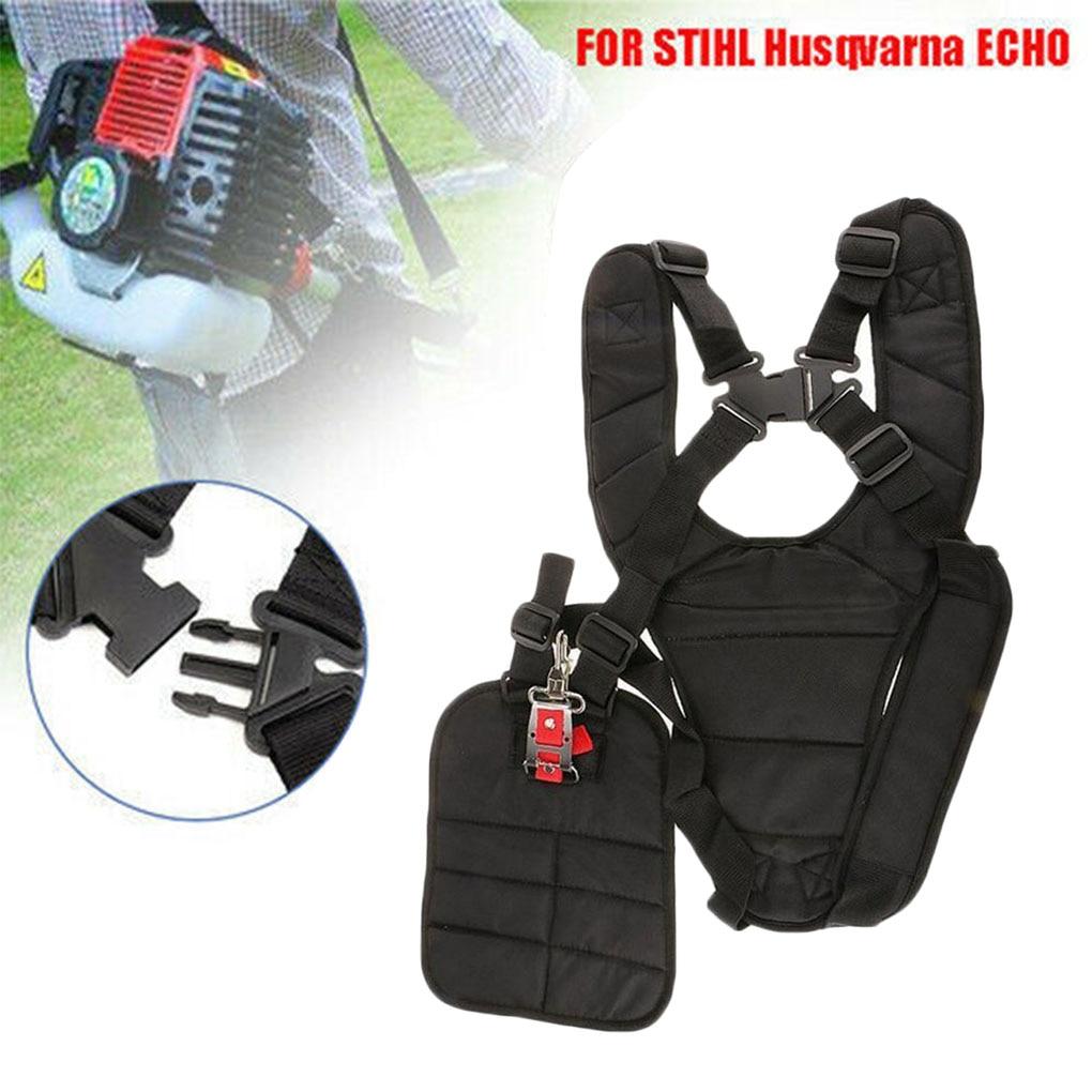 Convenient Strimmer Double Breasted Shoulder Harness Strap For Brush Cutter Adjustable Double Shoulder Strap Y-Shaped Garden