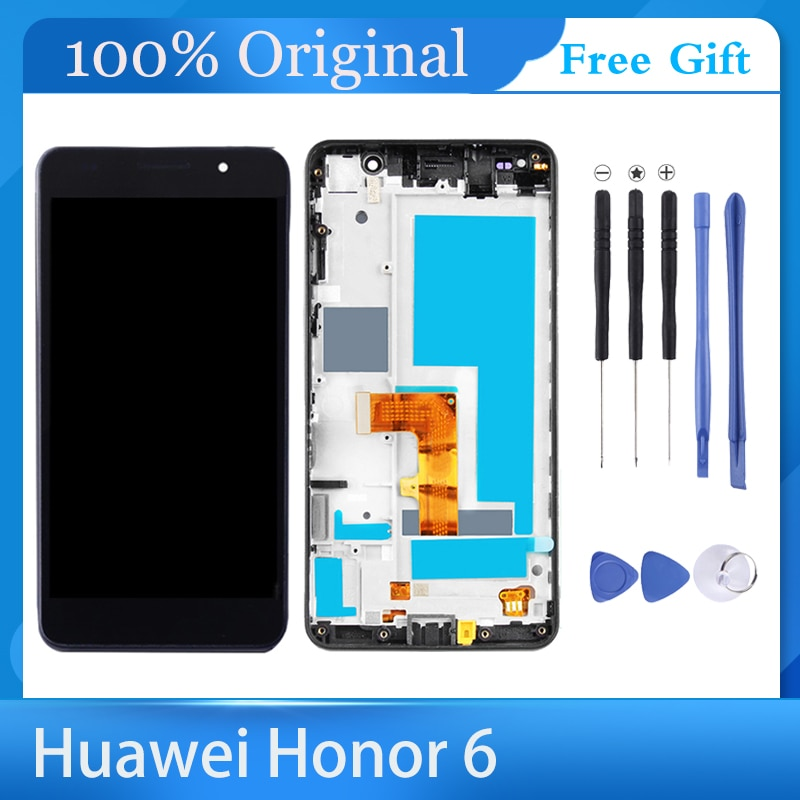 ltm150xi a01 ltm150x0 l01 lcd display screens 100%Original Display For HUAWEI Honor 6 LCD Touch Screen Replacement Screen Digitizer Assembly Honor 6/H60-L01 Lcd