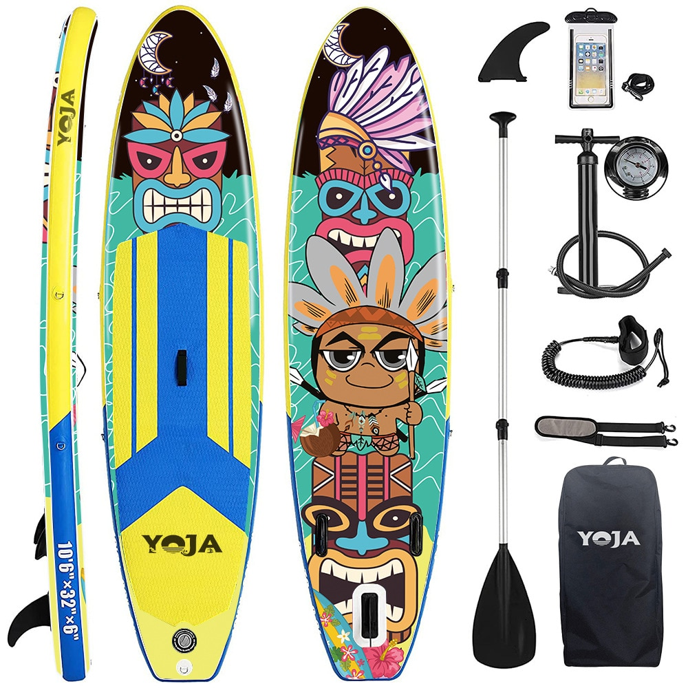 Water inflatable surfboard adult stand-up racing paddle board portable SUP paddle board skateboard