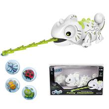 HiMISS Remote Control Chameleon 2.4GHz Pet Intelligent Toy Robot For Children Kids Birthday Gift Fun
