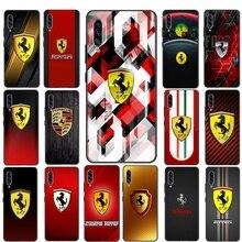 Sports Ferrari Car Mobile Phone Case Cover For Samsung A2 Core A3 A5 A6 A6 A8 Plus A9 A01 EU A11 A21