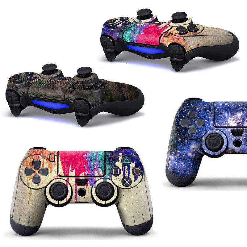 Pegatinas de piel de cobertura completa para Sony Playstation 4, pegatinas protectoras...