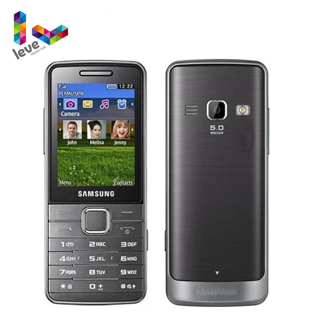 "Unlocked Samsung S5610 S5611 GSM Mobile Phone 2.4"" FM Radio Bluetooth 5MP Russian Keyboard Refurbished Cellphone"