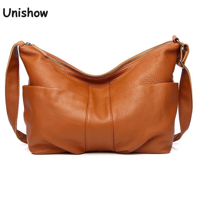 خمر لينة جلد طبيعي المرأة حقيبة كتف سيدة كبيرة حقيبة كروسبودي 100% طبيعة جلد المرأة حقيبة الإناث حقيبة ساعي