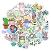 103050pcs happy vsco graffiti stickers car suitcase refrigerator bicycle trolley case refreshing sticker toys for children