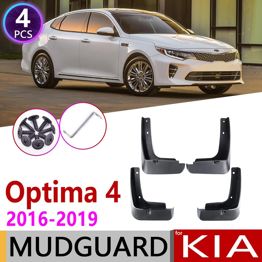 Parte delantera trasera para KIA Optima 4 K5 JF 2016 2017 2018 2019 guardabarros para coche guardabarros accesorios 4th