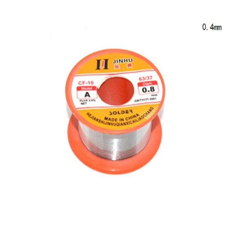 63/37 2.0% estanho chumbo melt rosin núcleo solda 0.3/0.4/5/6/8/1mm