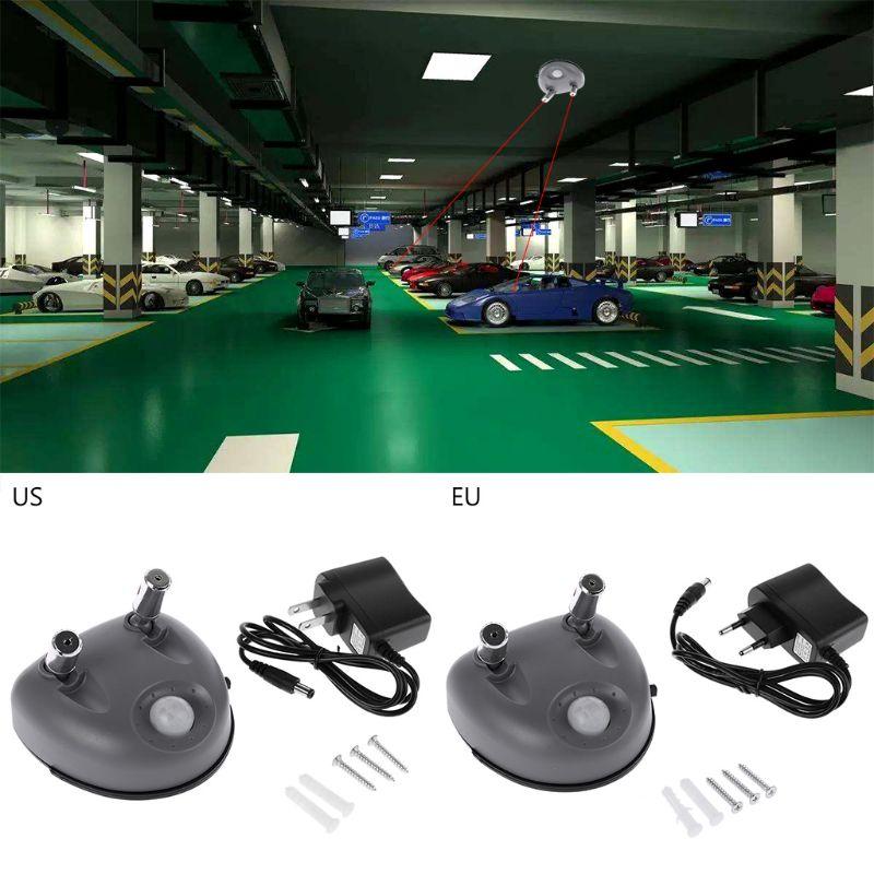 Guia de estacionamento a laser duplo l69a, apoio de posicionamento do teto da garagem para carros