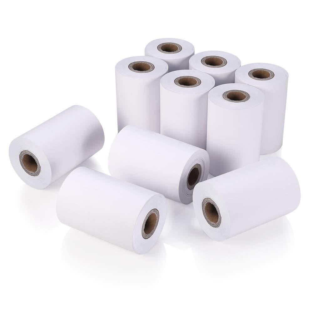 Papel térmico para impresora de recibos, papel de caja registradora 58*40mm 58*50mm para teléfonos móviles, PDA portátil sunmi V1s Sunmi V2
