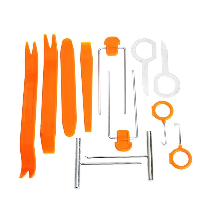 12 шт./набор, инструменты для снятия обшивки салона автомобиля, набор инструментов для ремонта, ручной инструмент