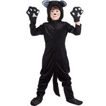Kedi kostüm çocuk noel tulum cadılar bayramı kostüm çocuk çocuk Cosplay parti elbise elbise Lady Bug kostüm yeni