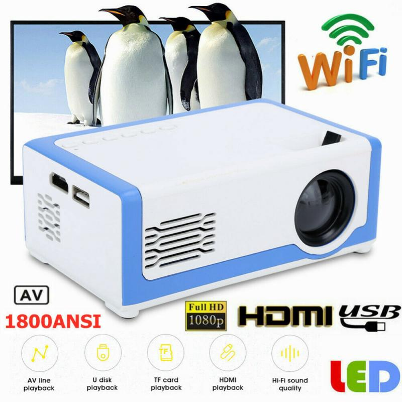 Eua reino unido da ue yg300 pro led mini projetor 320x240 pixels hd 1080p hdmi compatível com áudio usb portátil projetor media player de vídeo Acessórios p/ projetor    -
