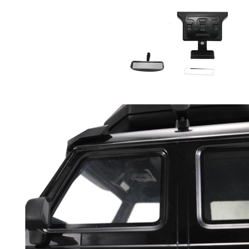 Metal Reflective Rearview Mirror Car Interior Rearview Mirror for 1/10 TRAXXAS TRX4 G500 TRX6 G63 RC Car Parts Accessories