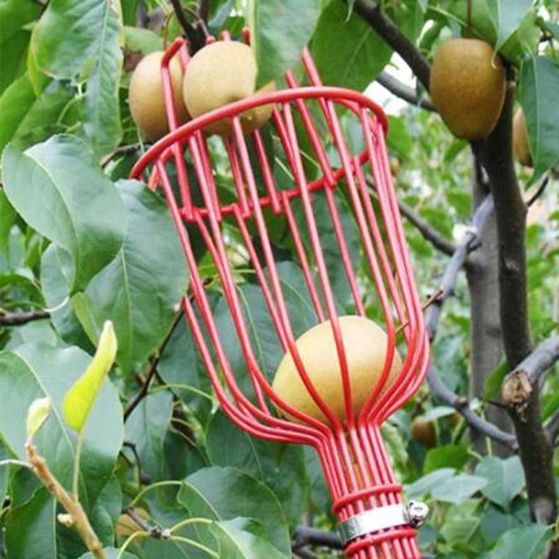 Garden tools Deep Basket Fruit Picker Head Convenient Fruit Picker Catcher Apple Peach Picking Farm Garden Picking Device