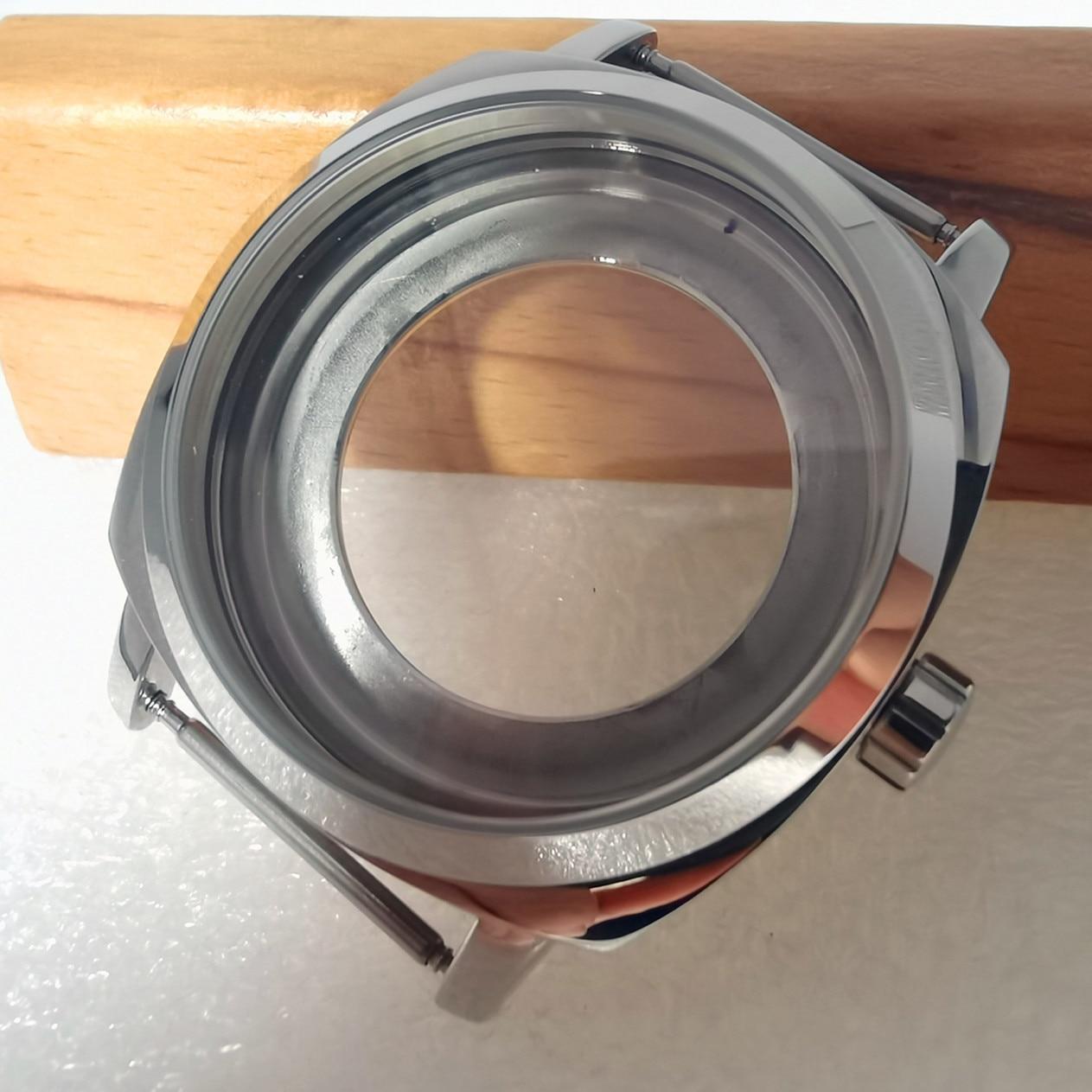 Relógio de Aço Inoxidável Case Ajuste Miyota8215 Movimento Automático a1 42mm Eta2836